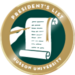 Husson 2015 Spring President's List