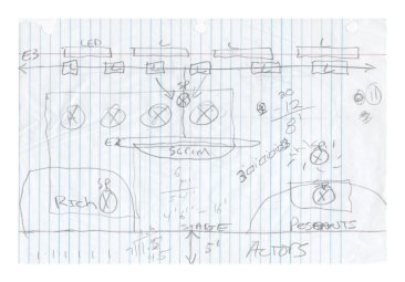 Hand Drafting for Once On This Island